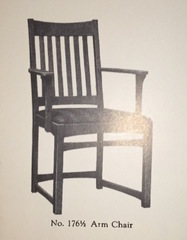 1918 catalogue image arm chair